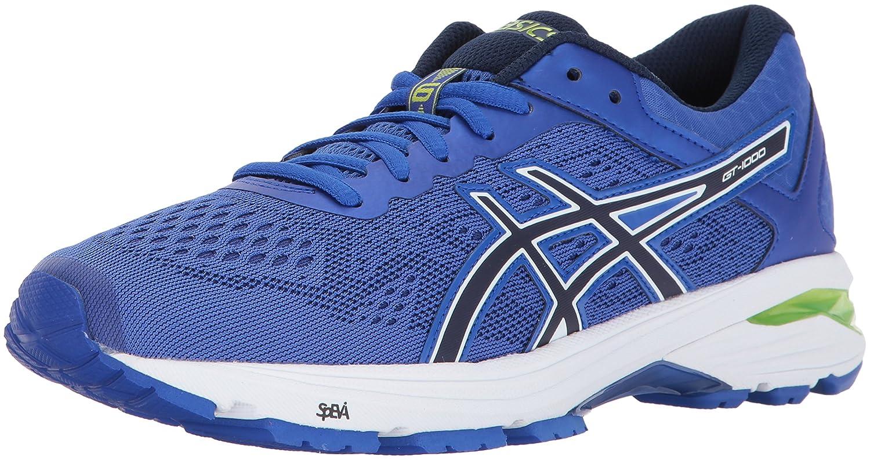 ASICS Women's GT-1000 6 Running Shoe B01N8T25DE 5 B(M) US|Blue Purple/Indigo Blue/Neon Lime