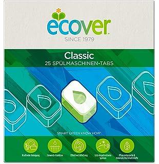 Ecover abrillantador ecológico para lavavajillas.: Amazon.es ...