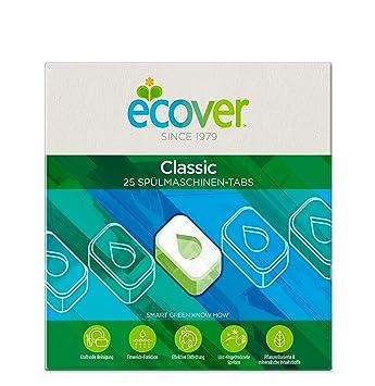 Ecover ecológicas Pastillas lavavajillas, 2-pack (2 x 25 Tabs ...