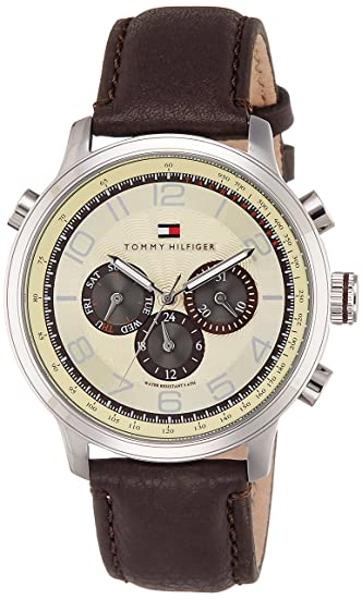 a8649670 Buy Tommy Hilfiger Analog Yellow Dial Men's Watch - NATH1790767 Online at  Low Prices in India - Amazon.in