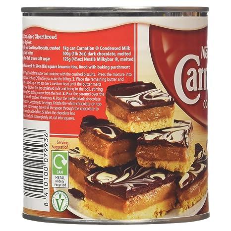 Nestlé Carnation Leche Condensada - 1kg: Amazon.es: Alimentación y bebidas