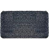 "GrassWorx 10376618 Clean Machine High Traffic Astroturf Dirt Trapper Doormat, 17.5""x29.5"", Charcoal Gray"