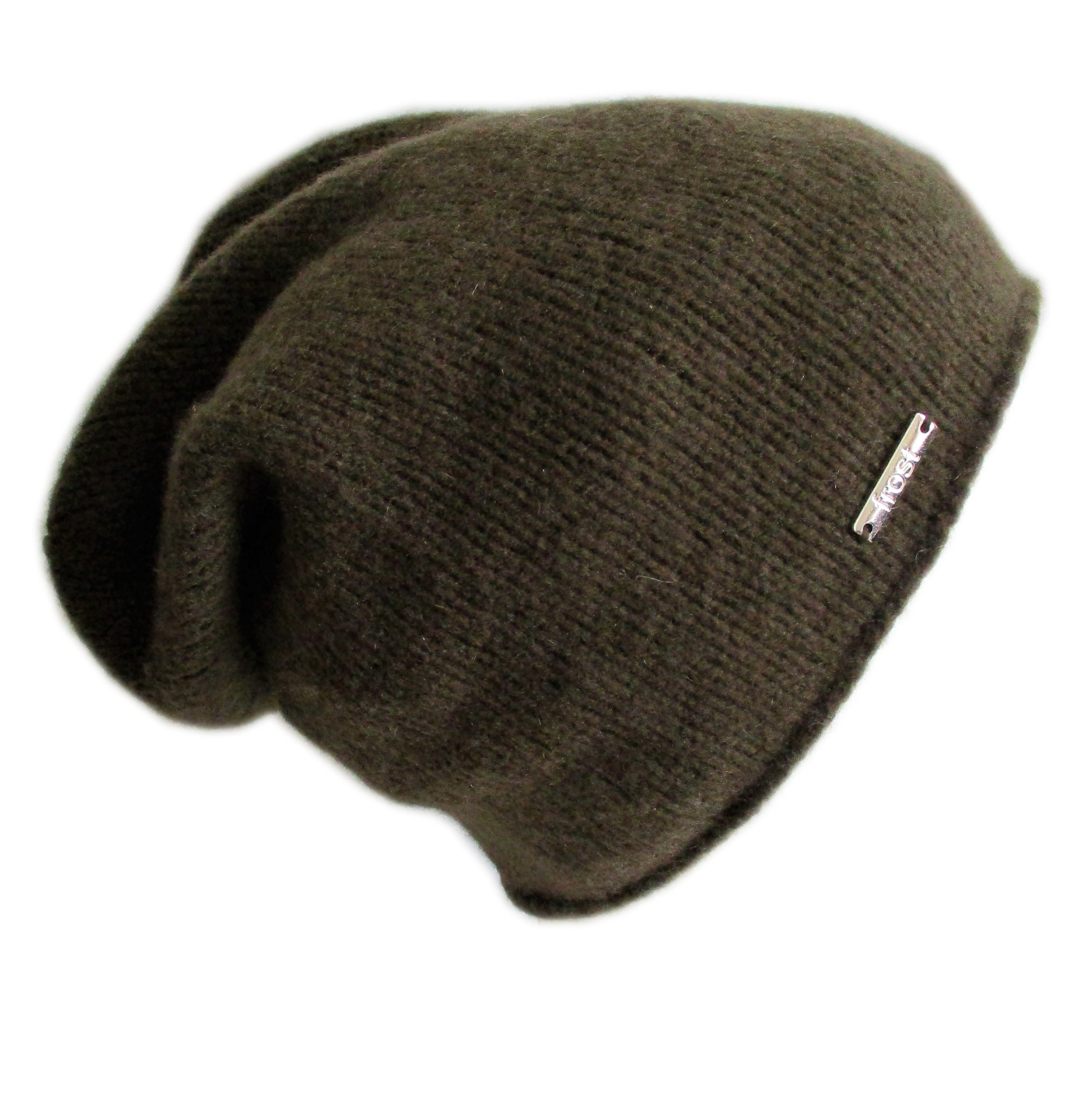 Frost Hats Italian Cashmere Slouchy Unisex Hat CSH-742-W (Olive Green) by Frost Hats