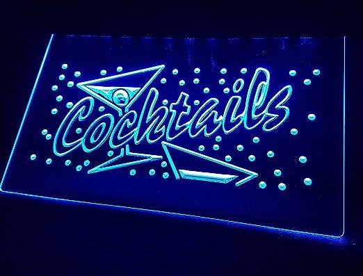 Zhengdian Electronic Cócteles Neon LED Cartel Cartel ...
