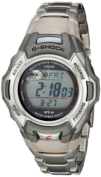 Men's G Shock Casio Stainless Watch