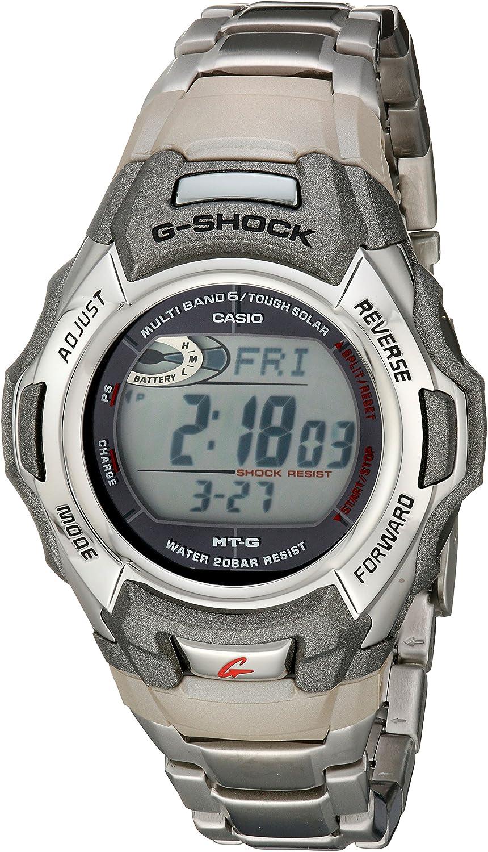 Amazon.com: Casio Men's G-Shock MTGM900DA-8CR Tough Solar Atomic Stainless  Steel Sport Watch: Watches