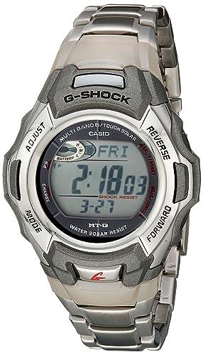 G-Shock MTGM900DA-8CR - Reloj Deportivo para Hombre (Acero Inoxidable atómico,