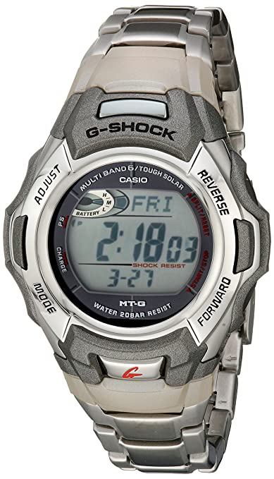 front facing Casio Stainless G Shock