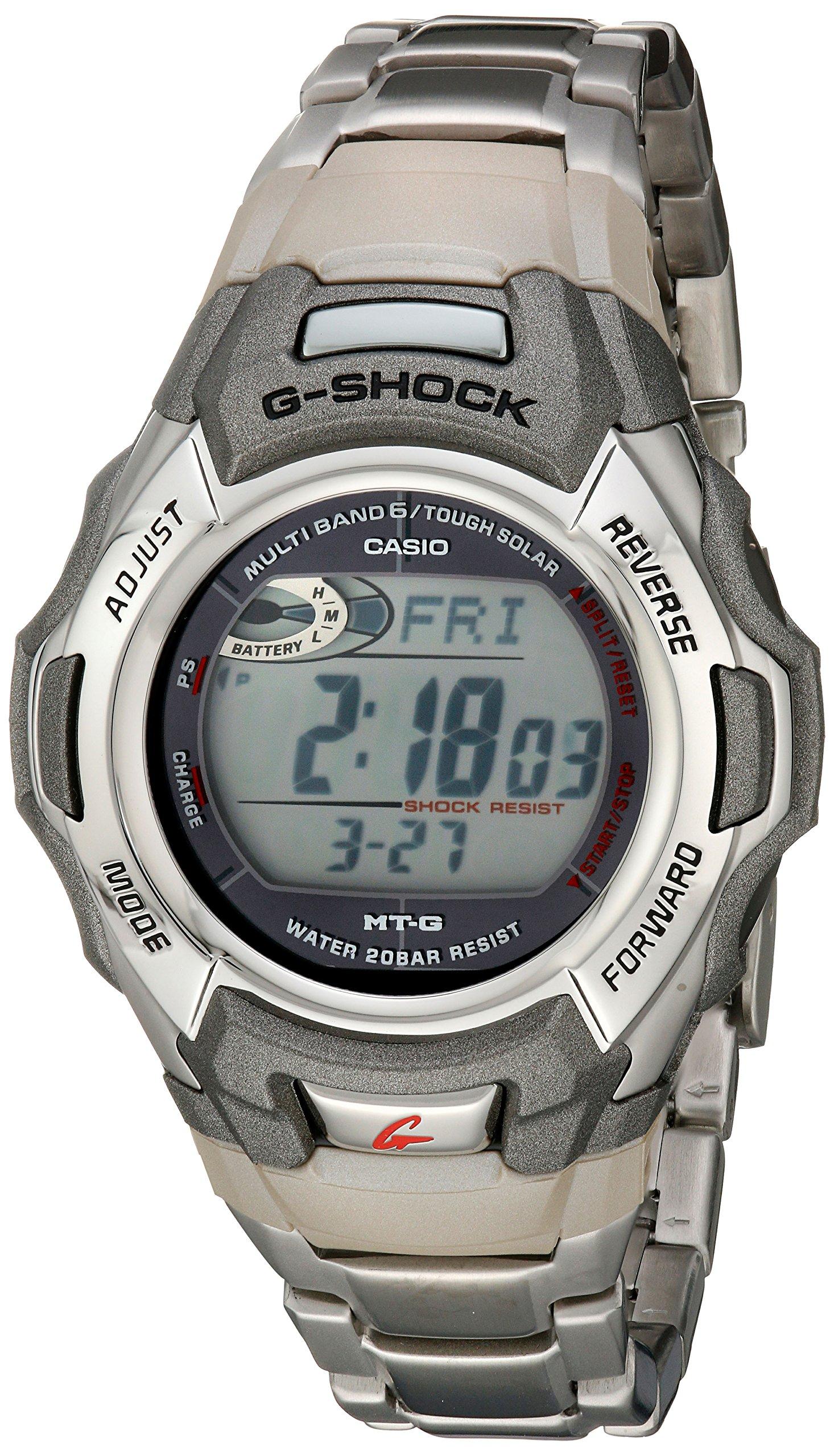 ویکالا · خرید  اصل اورجینال · خرید از آمازون · Casio Men's G-Shock MTGM900DA-8CR Tough Solar Atomic Stainless Steel Sport Watch wekala · ویکالا
