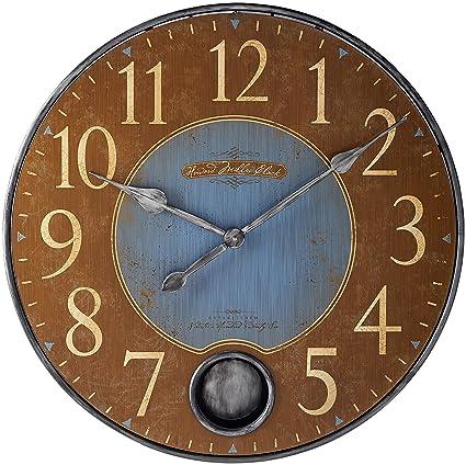 Amazon Com Howard Miller Harmon Ii Clock Home Kitchen