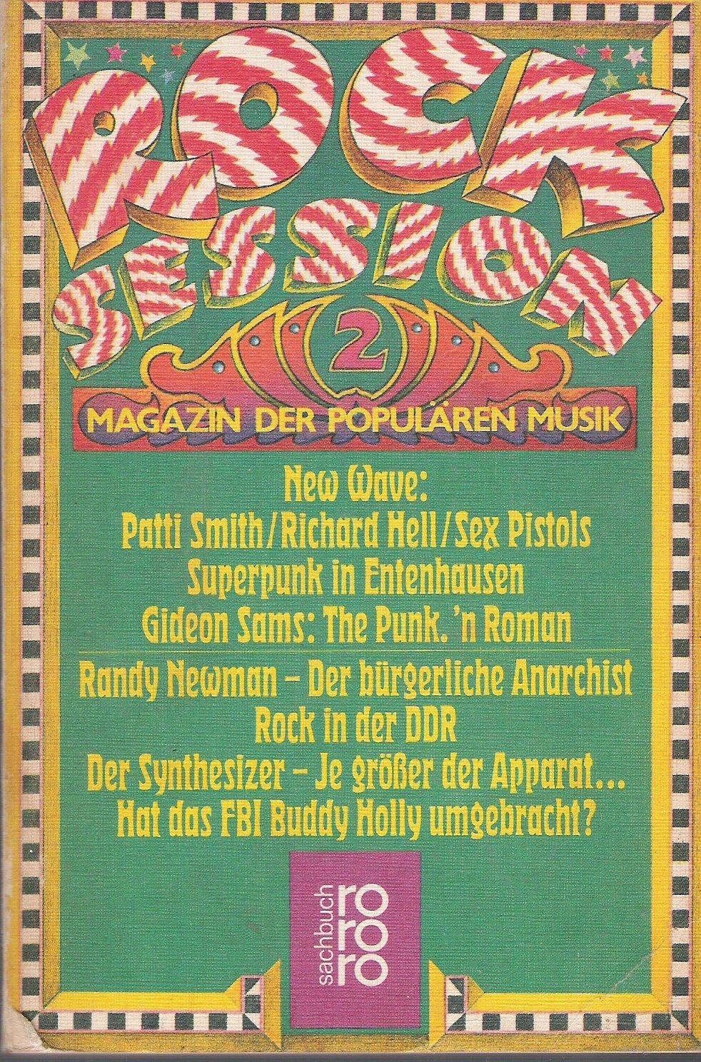 Rock Session II. Magazin der populären Musik