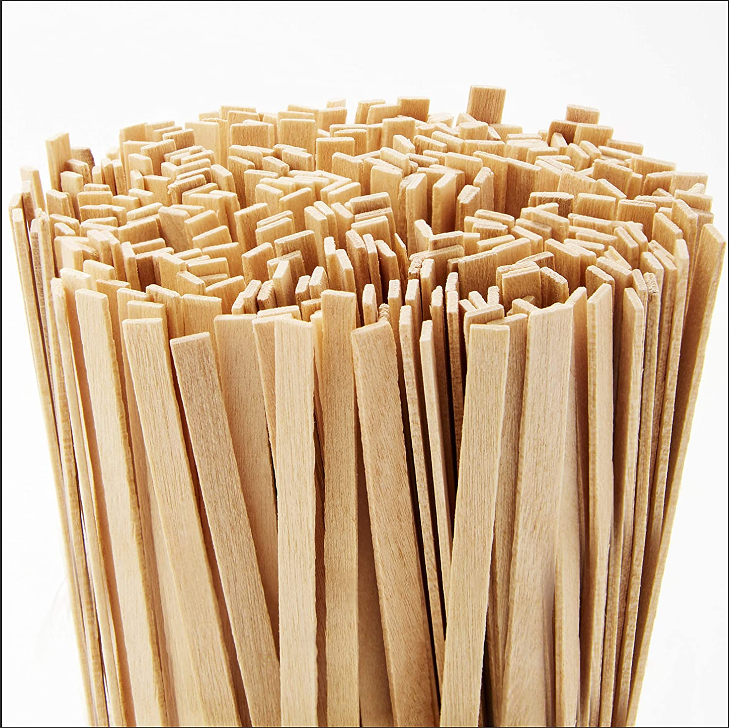 Cafe Grade, Biodegradable Wood Coffee Stirrer 2000 Ct, 5.5 In. Bulk Birch Wooden Beverage Stirring Stick for Tea, Cream or Sugar. Best Eco Friendly, Compostable Swizzle Stir Sticks Business Supplies