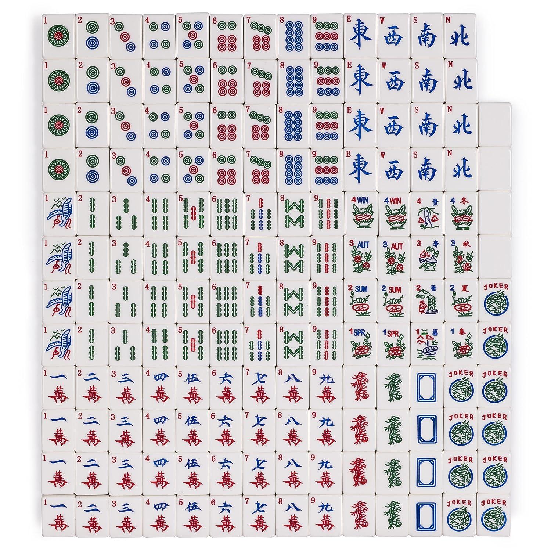 photograph relating to Mahjong Cards Printable named Yellow Mountain Imports Established of 166 American Mahjong (Mah Jong, Mahjongg, Mah-Jongg, Mah Jongg) Tiles, Koi