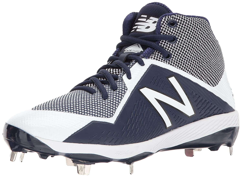 New Balance Men's M4040v4 Metal Baseball Shoe B01MTQ8K5U 8.5 D(M) US|Navy/White