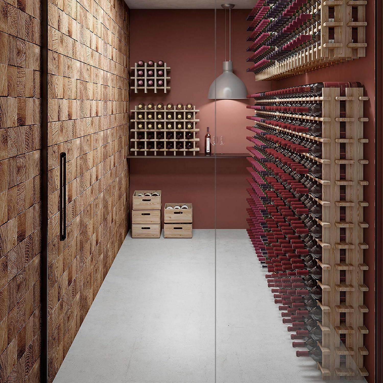 empilable extensible 9 bottiglie Syst/ème d/étag/ères modulaires /à vin PRIMAVINO en pin naturel