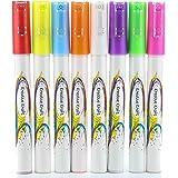 Marqueurs à craie liquide, multicolore, 3 mm Liquid Chalk Marker