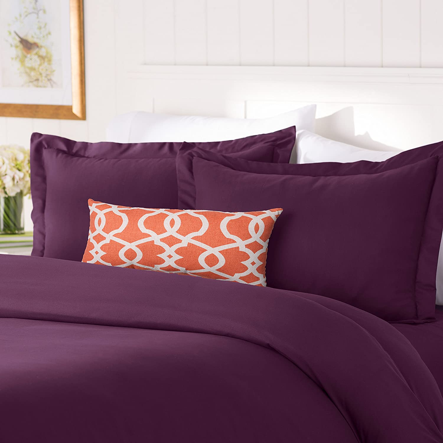 Elegant Comfort #1 Best Bedding Duvet Cover Set