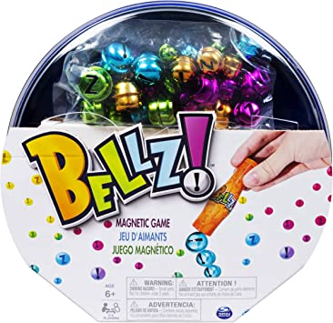 Bellz, Family Game with Magnetic Wand & Colorful Bells, for Kids Aged 6 & Up