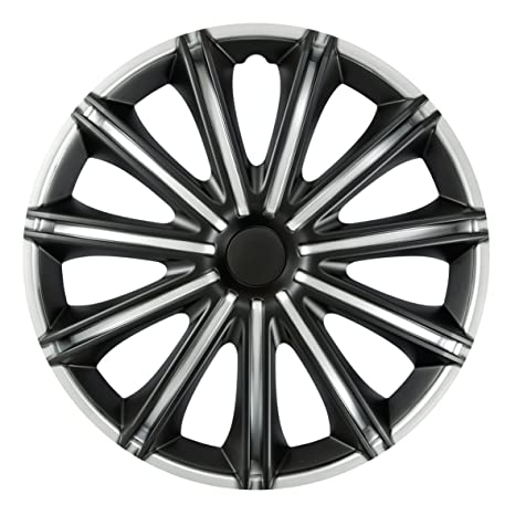 Serie 4 Tapacubos 16 Modelo negro Black & Silver