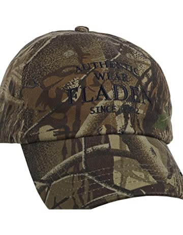 424e96db6bd6a FLADEN FISHING Authentic Wear 100% Cotton Camouflaged Peaked Baseball Cap -  Excellent Sun Weather Protection.  2