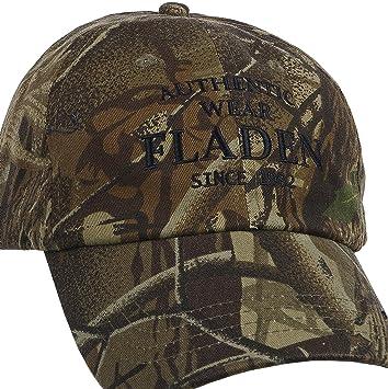 Fladen Pesca Authentic Wear 100% algodón camuflado Visera Gorra de béisbol – excelente Sol protección