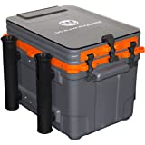 Wilderness Systems Kayak Crate | 4 Rod Holders | Kayak Tackle Storage | Fits Most Kayaks