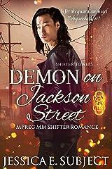 Demon on Jackson Street: An MM Mpreg Shifter Romance (Shifter Towers Book 5) Kindle Edition