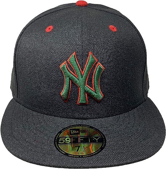 New Era Kids MLB 59Fifty NY New York Yankees Fitted Baseball Cap Snapback Red