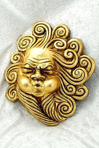 Bluemoon Venice - Máscara Veneciana - Vento Oro