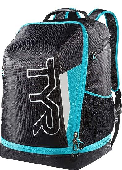d25c42710b8 Amazon.com : TYR Apex Transition Bag, Black/Blue, Medium : Clothing