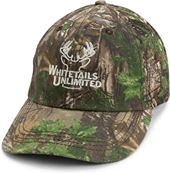 Whitetails Unlimited Realtree Camo Mesh Hat