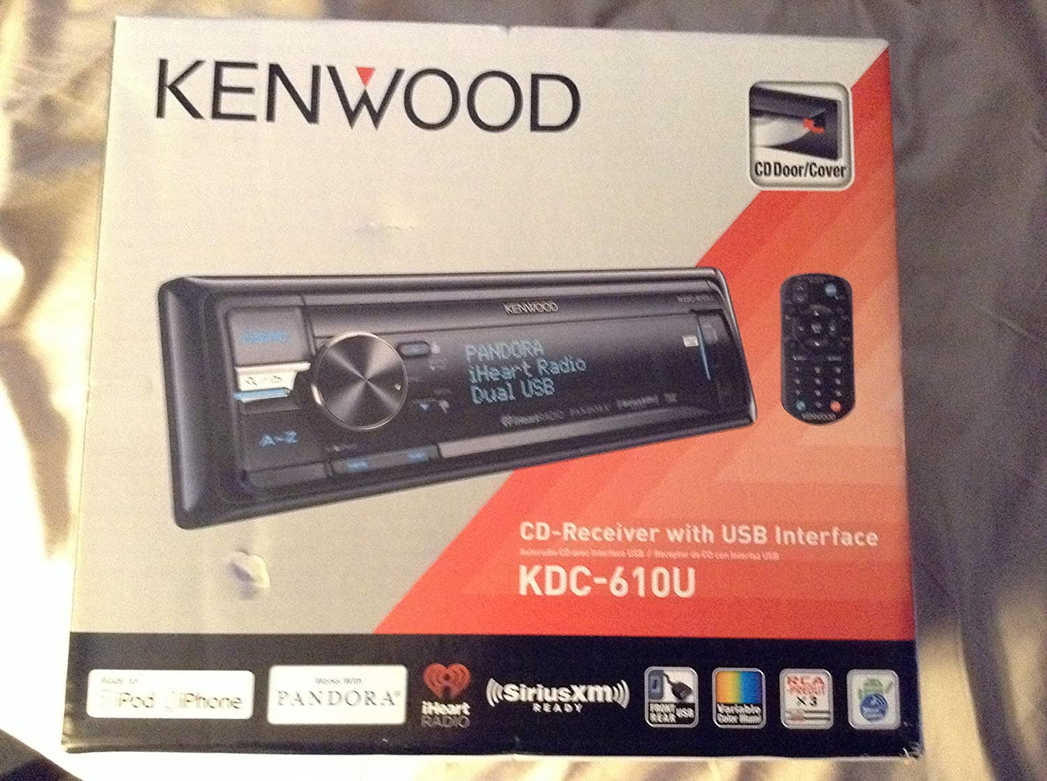 91ms9JUyklL._SL1500_ amazon com kenwood kdc 610u cd player with dual usb multi color kenwood kdc 610u wiring diagram at bayanpartner.co