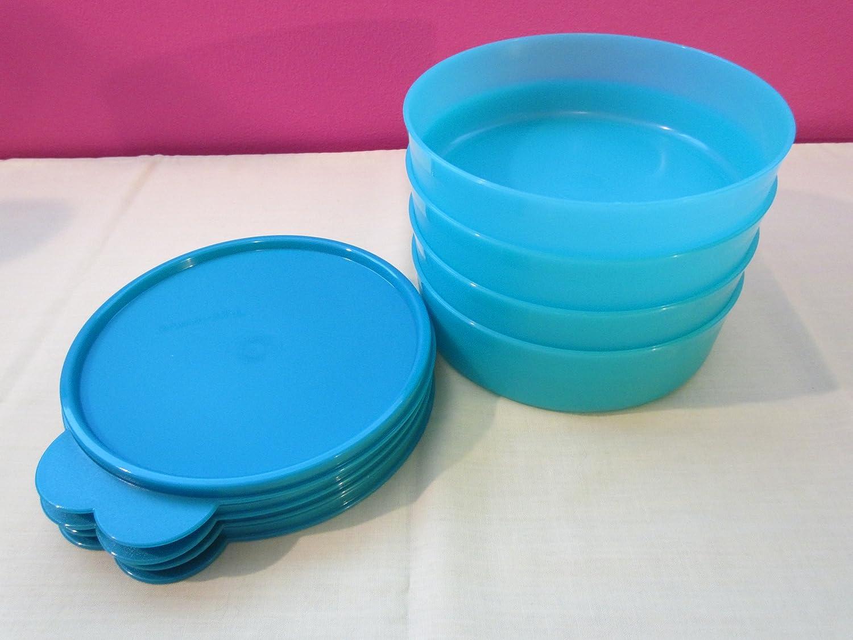 Amazon.com: Tupperware Big Wonders Set of Four. Carribean Blue ...