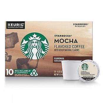 Starbucks Mocha Coffee Latte Medium Roast K-Cup