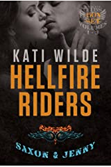 The Hellfire Riders, Volumes 1-3: Saxon & Jenny: Wanting It All, Taking It All, Having It All (The Motorcycle Clubs Box-Set Book 1)