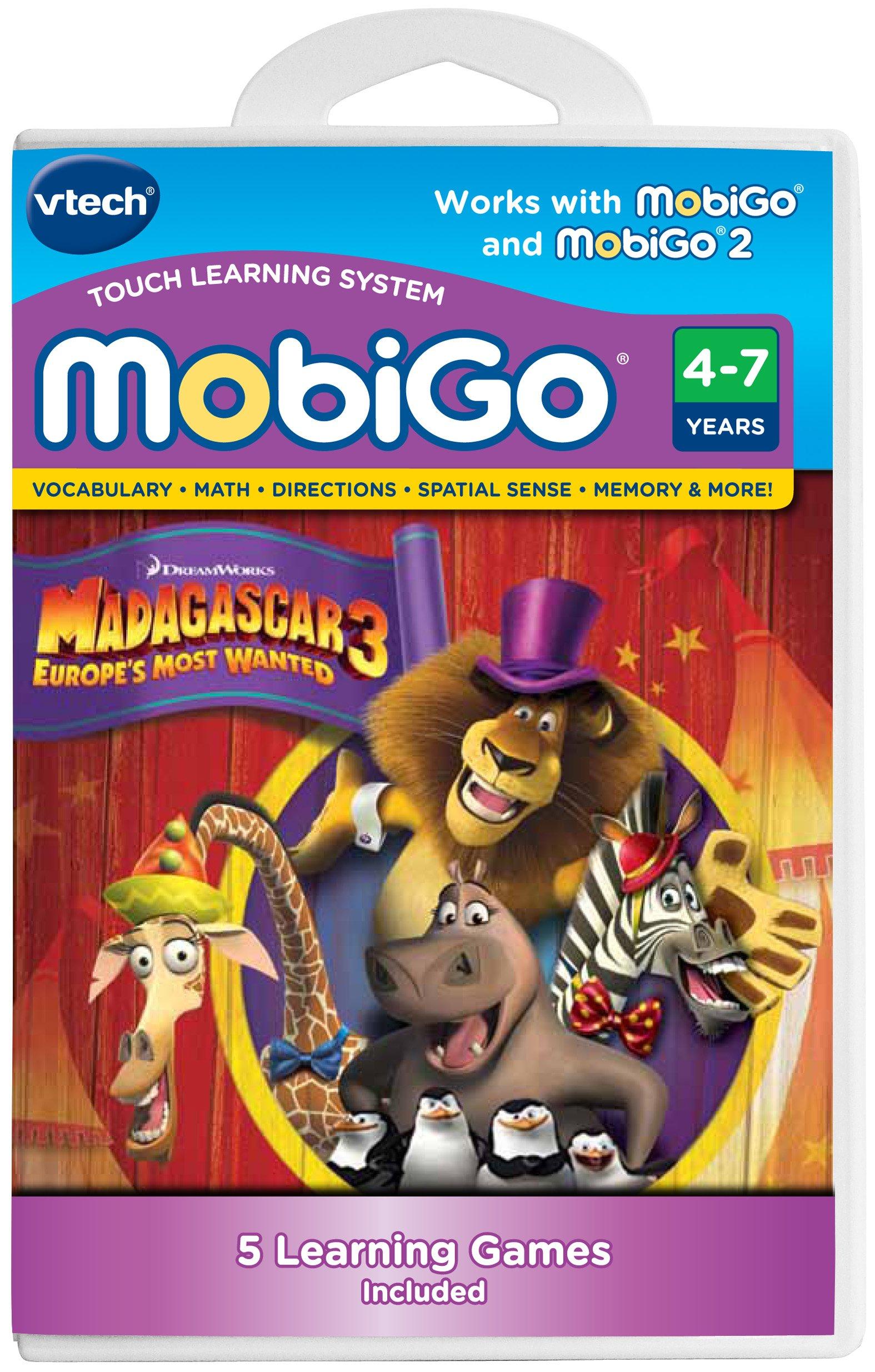 VTech MobiGo Software Cartridge - Madagascar 3 by VTech