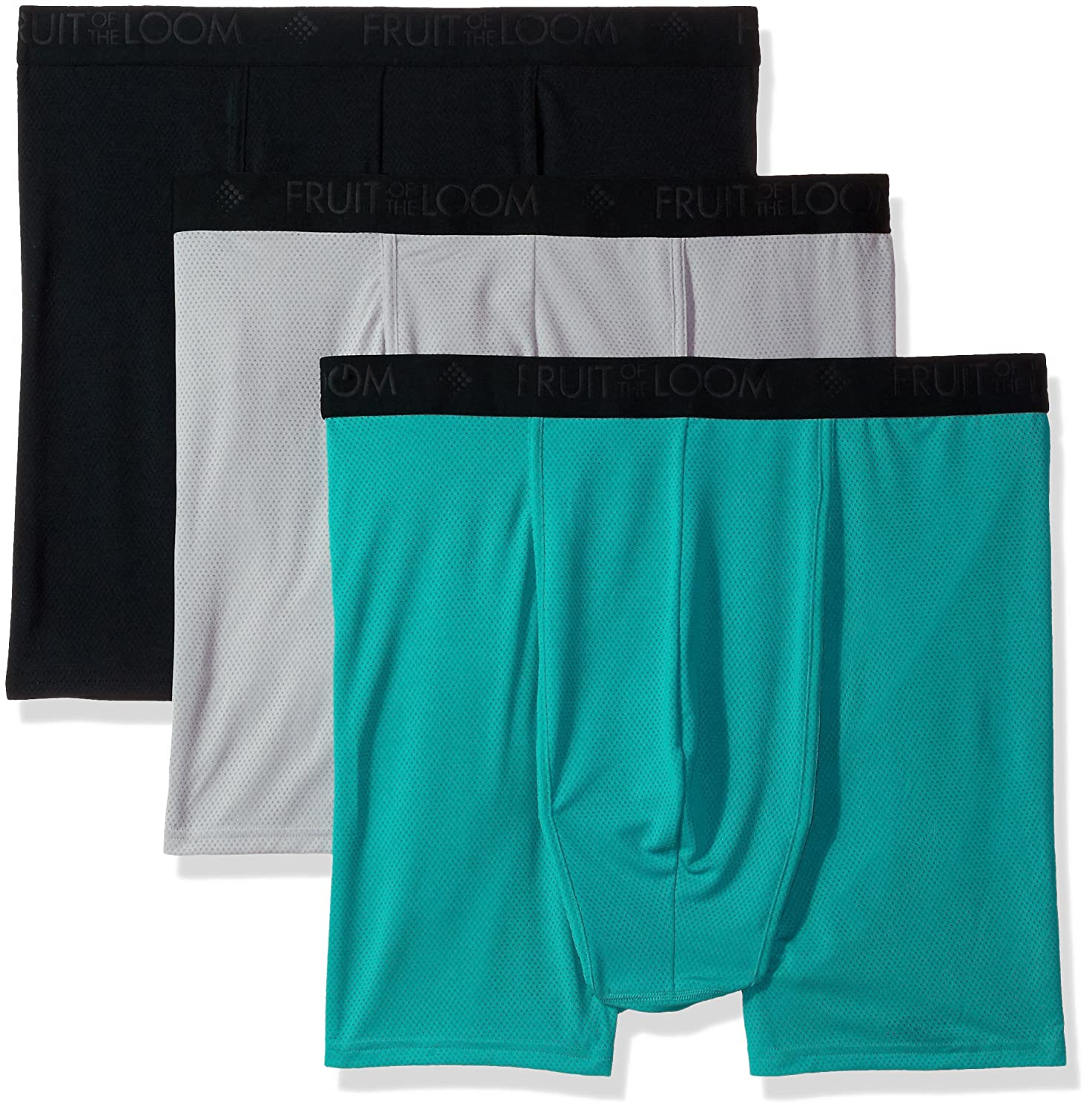 Fruit of the Loom Men's 3-Pack Prem Breathable Lightweight Micromesh Big Man BXR Brf BC3BBBM