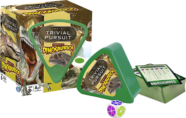 Dinosaurios - Juego Trivial Pursuit, Color marrón (Eleven Force 82943): Amazon.es: Juguetes y juegos