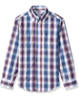 IZOD Kids Big Boys' Long-Sleeve Solid Buttondown Dress Shirt