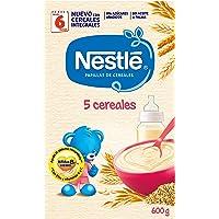 Nestlé Papillas - 5 cereales instantánea, a partir