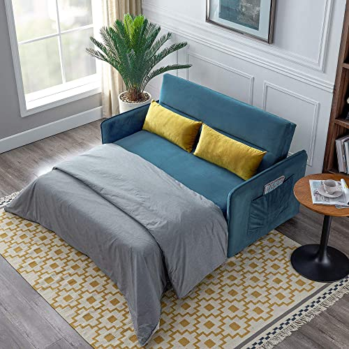 Merax Reversible Sleeper Sectional Sofa Couch