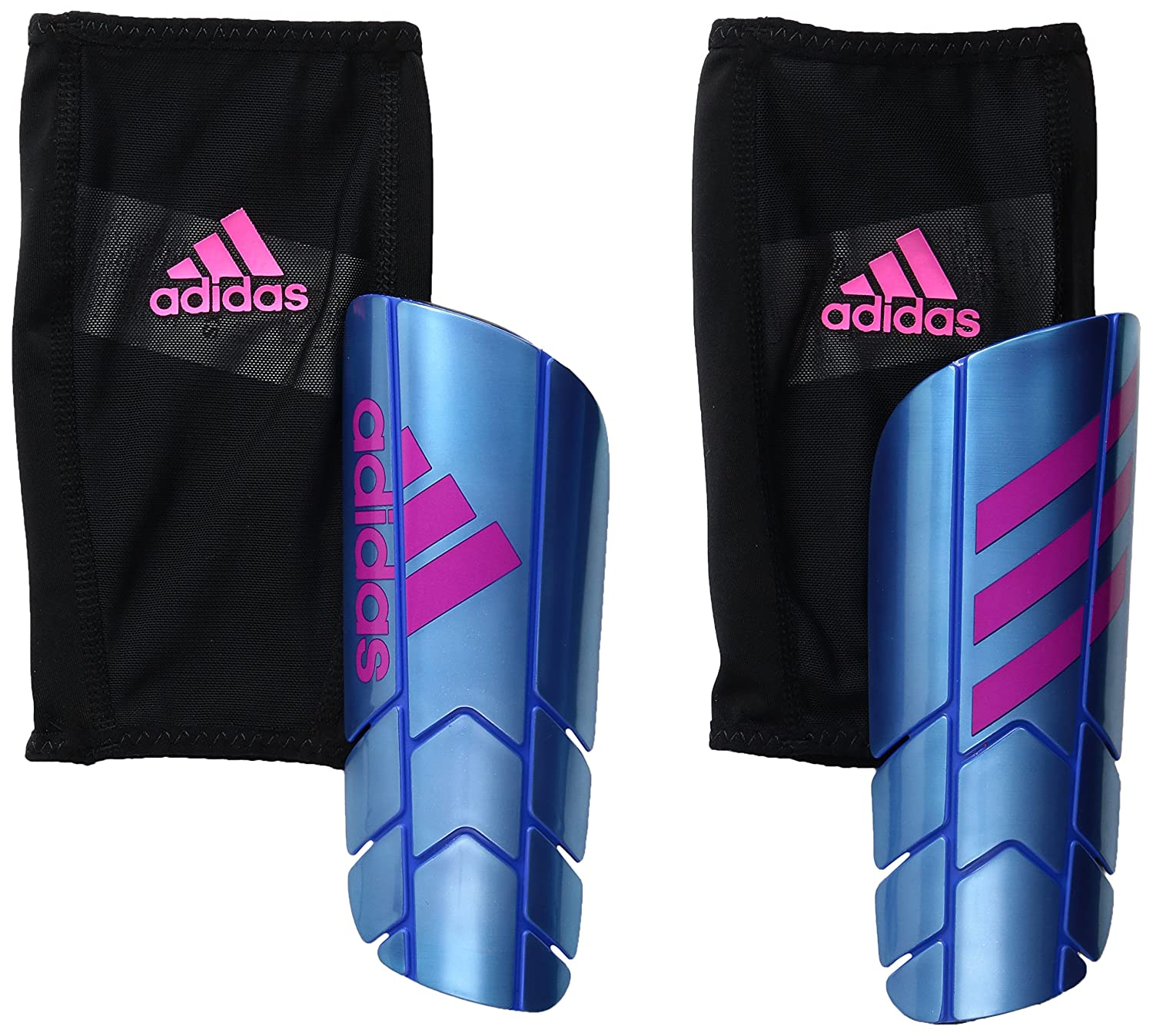 adidasゴーストプロシンガードすねあて B01GK9HBZG X-Large|Blue/Shock Pink/Black Blue/Shock Pink/Black X-Large