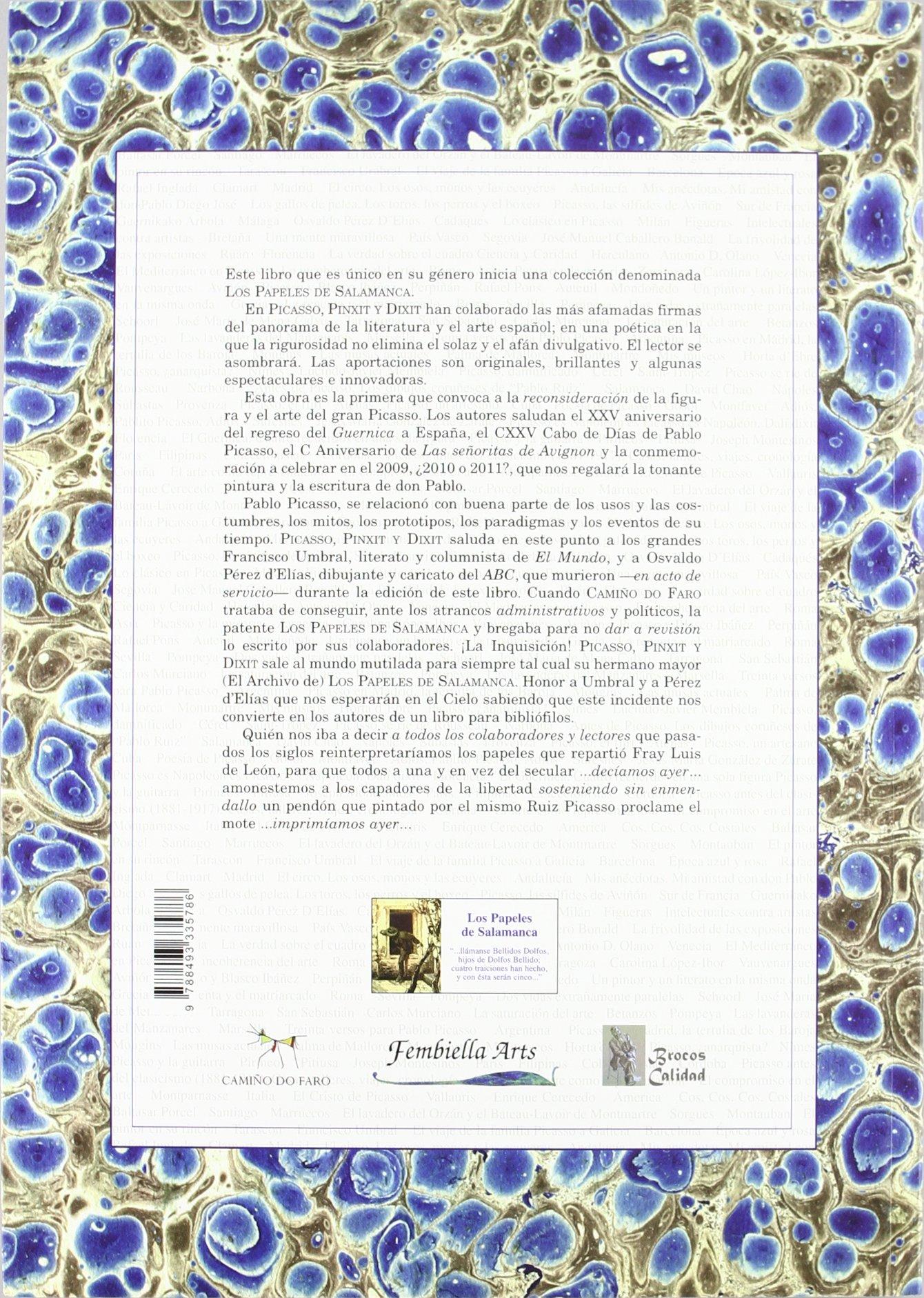 PICASSO PINXIT Y DIXIT: Amazon.es: AA.VV: Libros