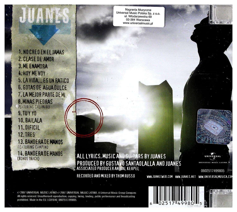 LA VIDA ES UN RATICO : Juanes: Amazon.es: CDs y vinilos}