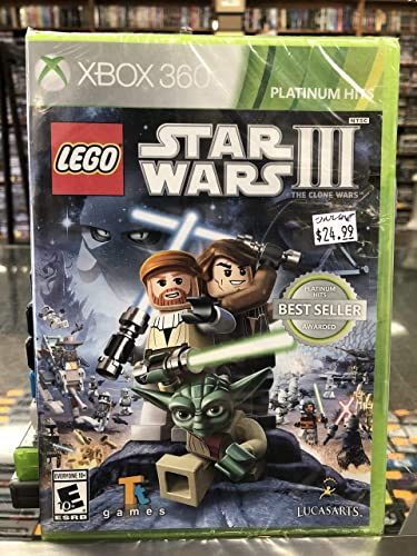 LucasArts LEGO Star Wars III: The Clone Wars, Xbox 360, ESP Xbox 360 Español vídeo - Juego (Xbox 360, ESP, Xbox 360, Acción / Aventura, Modo multijugador, E10 + (Everyone 10 +)): Amazon.es: Videojuegos