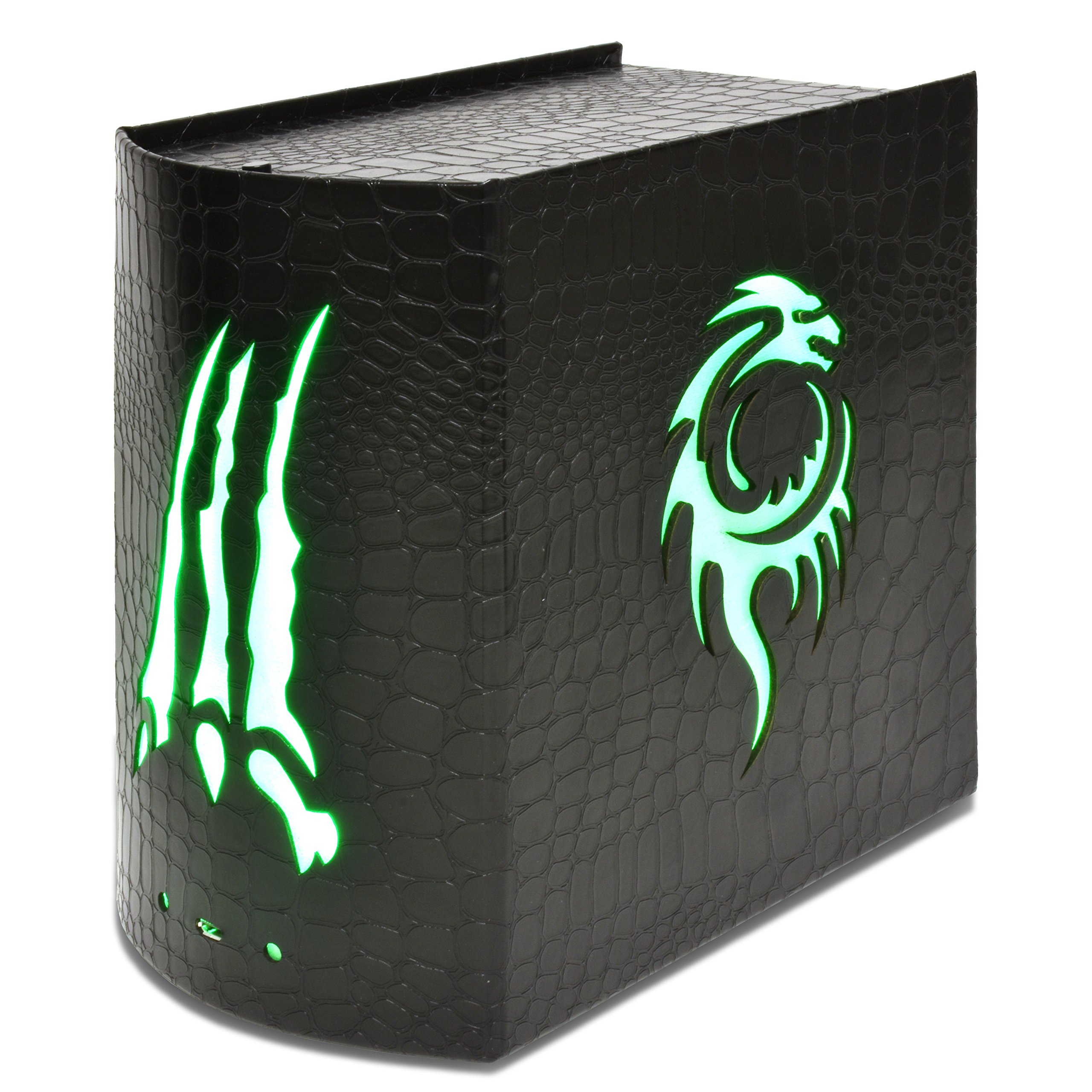 Opus Illuminated Card Chest - Dragonhide