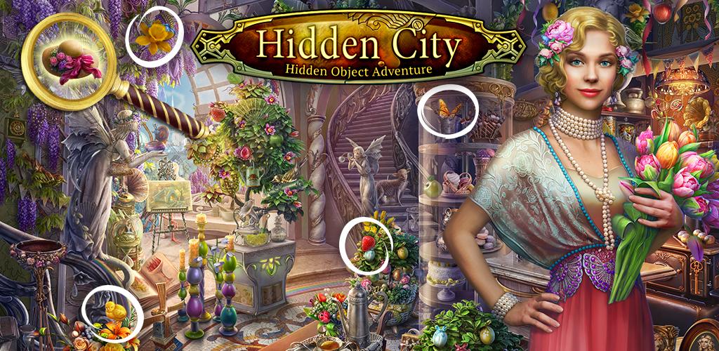 Hidden City Wimmelbild Abenteuer