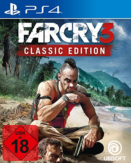 Far Cry 3 - Classic Edition - PlayStation 4 [Importación alemana]: Amazon.es: Videojuegos