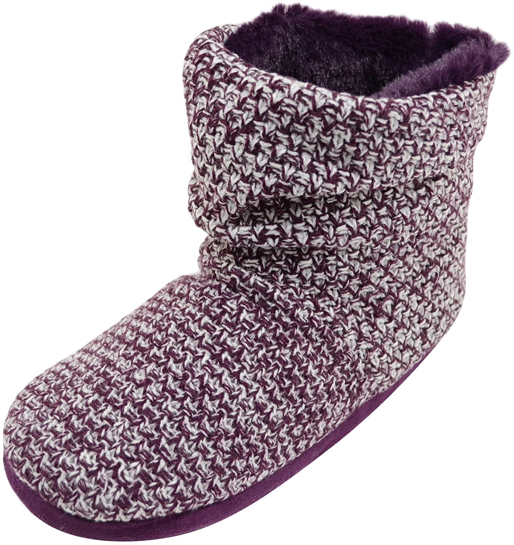 Absolute Footwear - Zapatillas de estar por casa de Tela para mujer 811733060b4