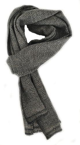 Luxury - Bufanda - para mujer gris Charcoal/Grey Talla única